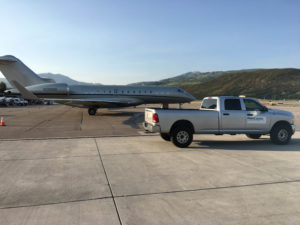 RossComm Truck and Jet